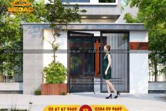 mẫu thiết kế nhà phố 2 tầng kết hợp kinh doanh
