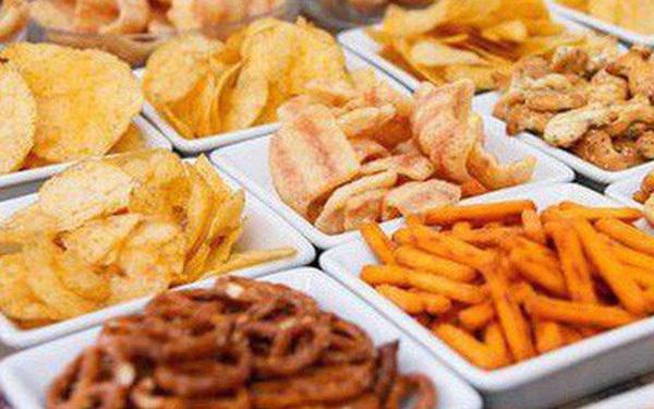 Ăn vặt gây béo phì