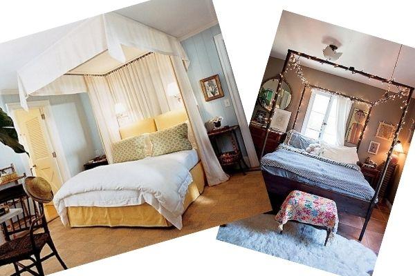 Giường ngủ kiểu Canopy
