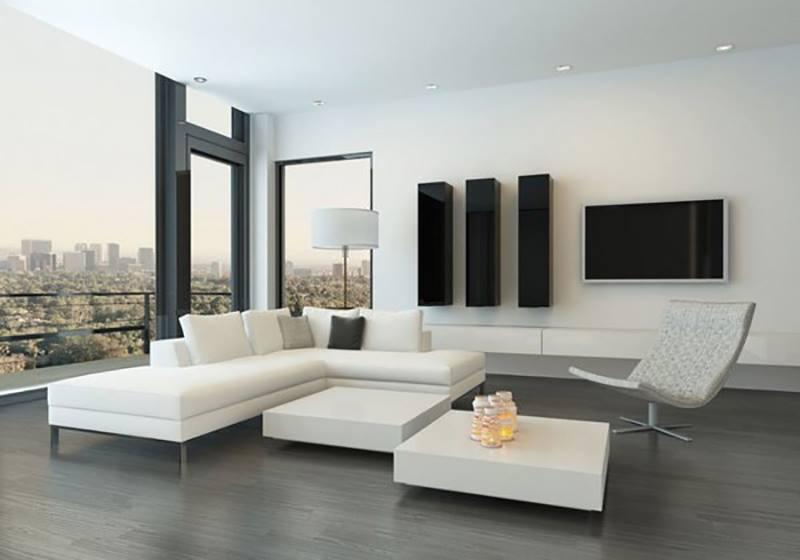 không gian phong cách nội thất tối giản (minimalism)