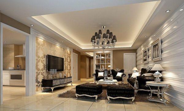 lưu ý khi thiết kế nội thất cổ điển 1
