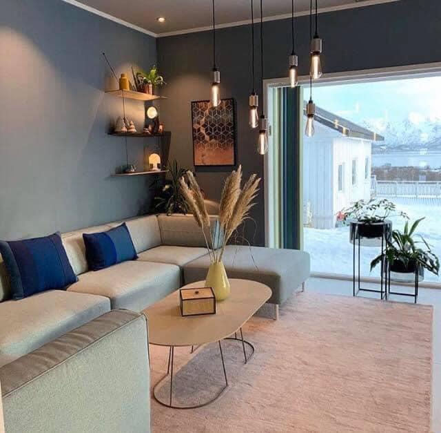 nền phong cách nội thất tối giản (minimalism)