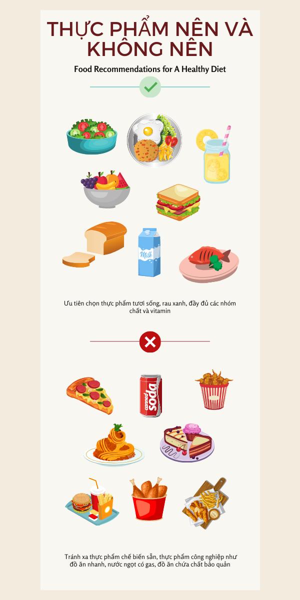 thực phẩm nên và không nên khi lên thực đơn chuẩn bị mang thai
