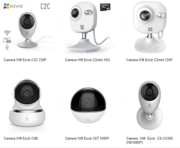 Camera EZVIZ là Camera gia đình giá tốt,