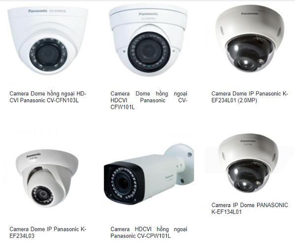 Camera Panasonic là một trong những Camera gia đình có công nghệ bảo mật tối ưu