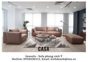 sofa da casa