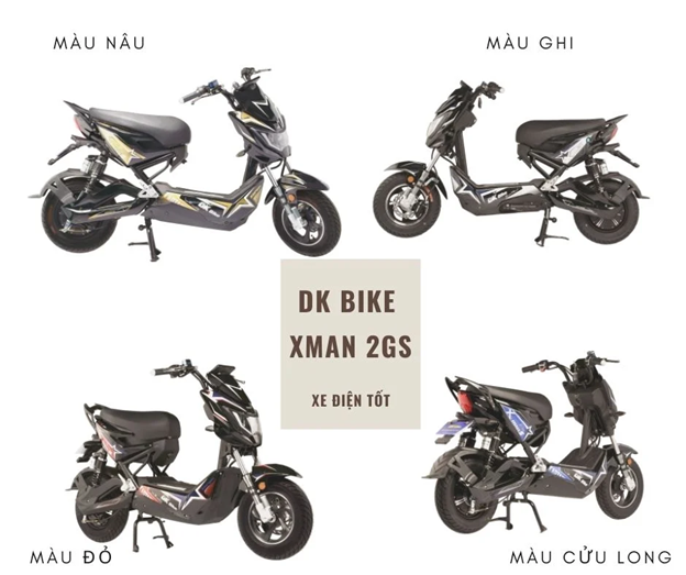 xe máy điện dkbike xman 2gs
