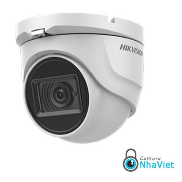 Camera dạng dome vòm tròn hikvision DS-2CE76U1T-ITMF