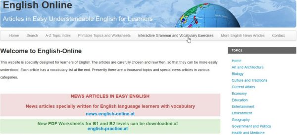 English Online tiếng anh giao tiếp