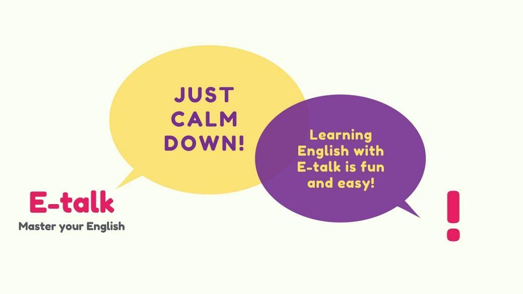 Khóa học giao tiếp tiếng Anh Online 1 kèm 1 E-talk.vn