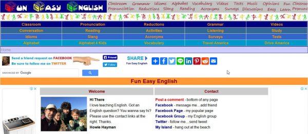 Fun Easy English Tiếng Anh giao tiếp