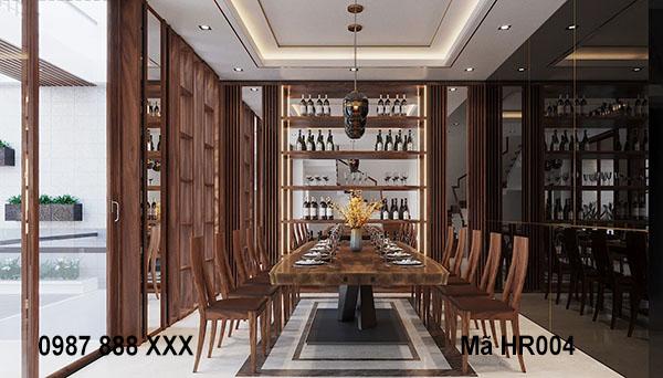 7 mẫu thiết kế nội thất hầm rượu sang trọng, đẳng cấp