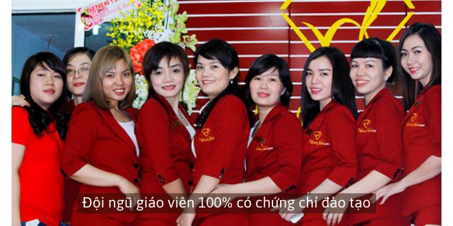 Đội ngũ giáo viên của World Nail School