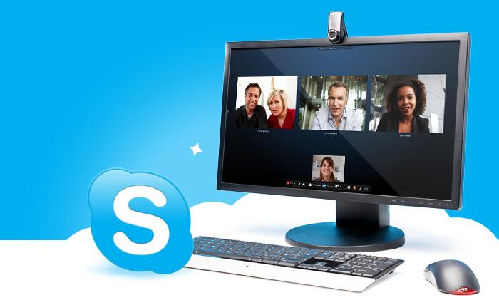 Học tiếng Anh giao tiếp qua Skype