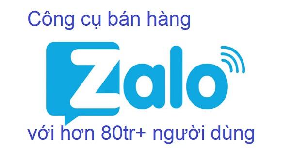 Bán hàng trên Zalo