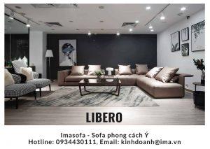 Sofa da đẹp Libero