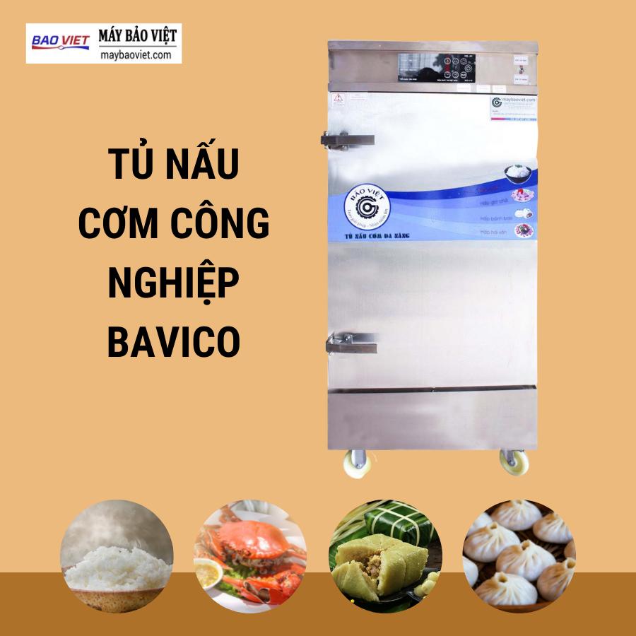 Tủ nấu cơm công nghiệp Bavico