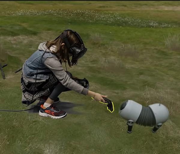 không gian VR