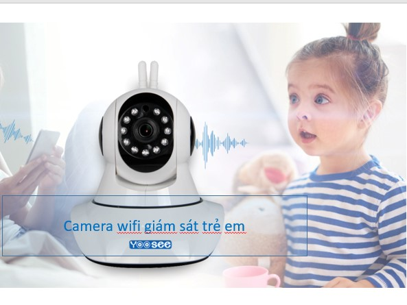 Camera giám sát trẻ em