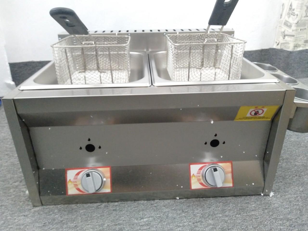 Bếp chiên nhúng 2 ngăn