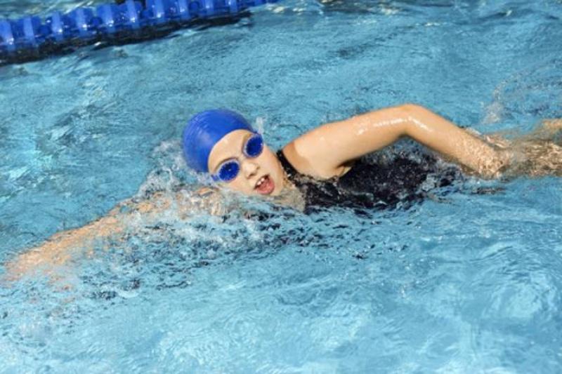 Bơi sải trước khi mang thai