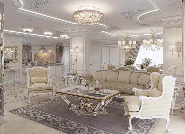 Tone màu trong thiết kế nội thất cổ điển