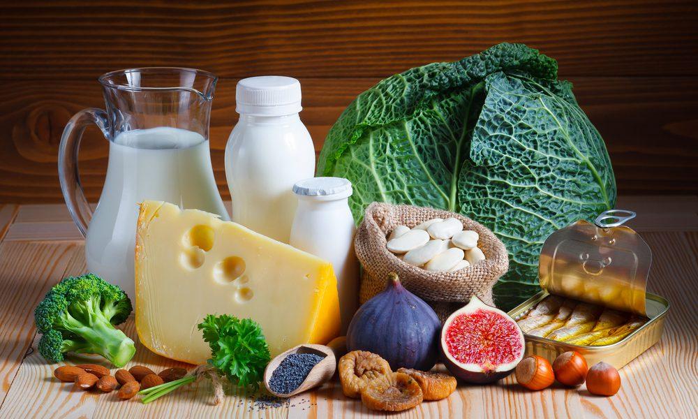 thực phẩm dinh dưỡng chứa caxni rát tốt cho thai kỳ và sức khoẻ mẹ và bé