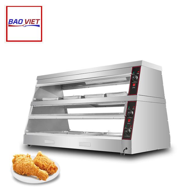 Tủ giữ nóng thức ăn 2 tầng DH -150
