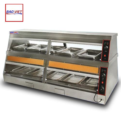 Tủ giữ nóng thức ăn 2 tầng DH-180