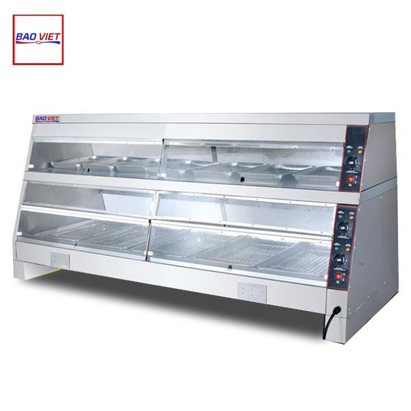 Tủ giữ nóng thức ăn 2 tầng nhiệt độc lập DH 220