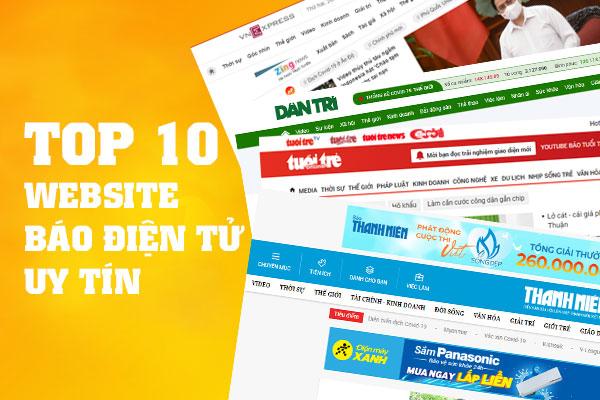 Top website báo điện tử uy tín nhất Việt Nam hiện nay