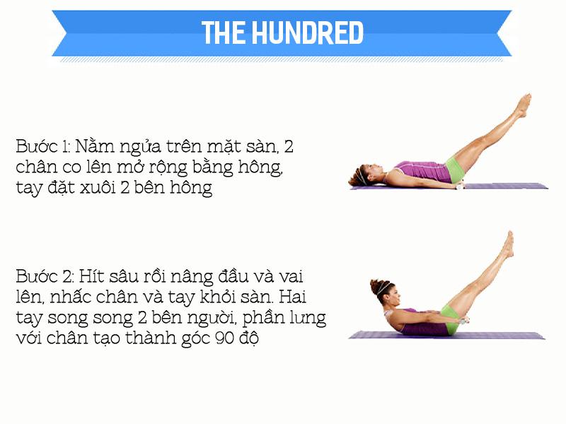 Bài tập The Hundred cho người chuẩn bị mang thai