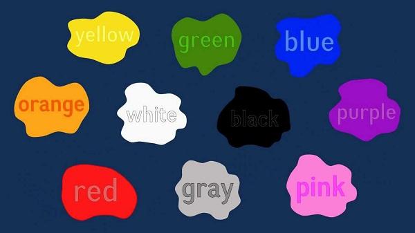 Cùng học tiếng anh qua màu sắc