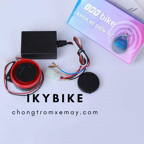 Khóa chống trộm xe máy Iky bike là gì