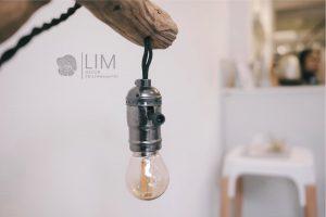 đèn cách điệu phong cách nội thất tối giản (minimalism)