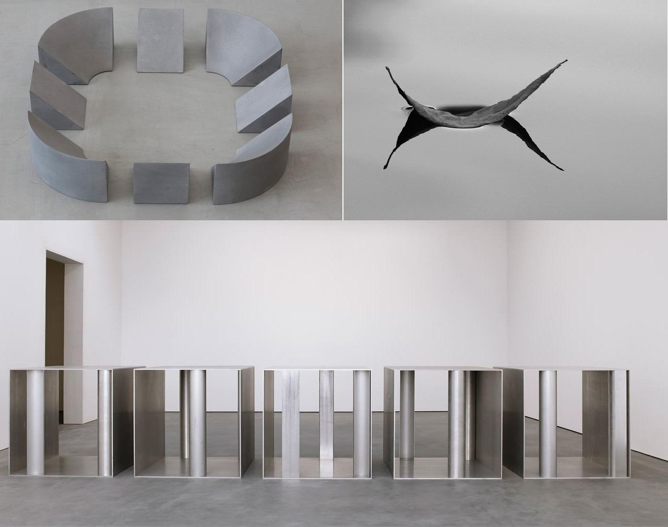 phong cách nội thất tối giản (minimalism) trong điêu khắc, hội họa