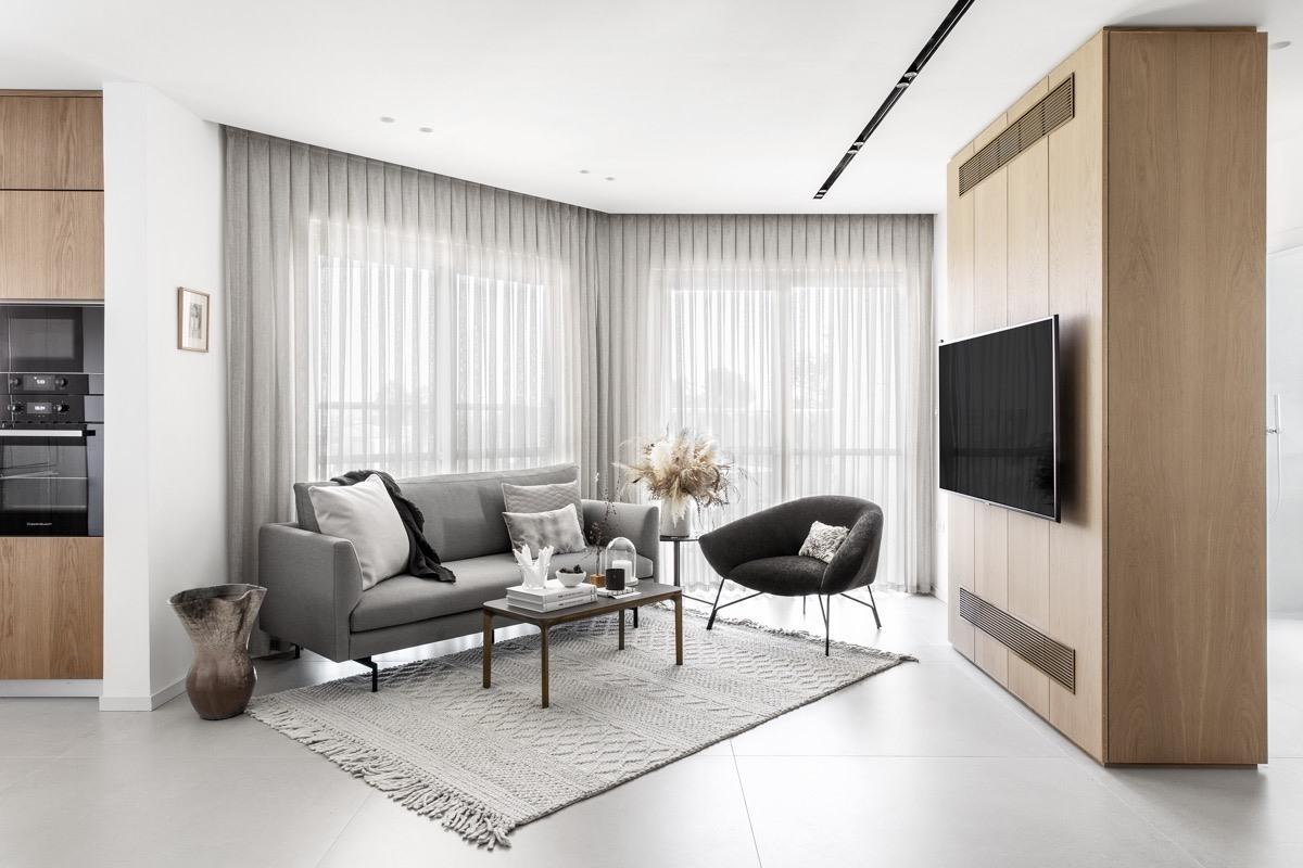 mẫu phong cách thiết kế nội thất tối giản