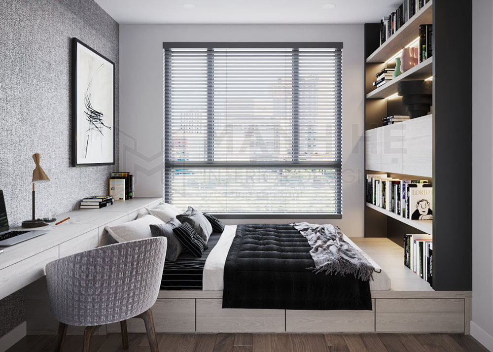 Thiết kế phòng ngủ vợ chồng 20m