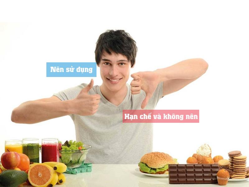 Thực phẩm hạn chế sử dụng cho nam giới khi chuẩn bị mang thai