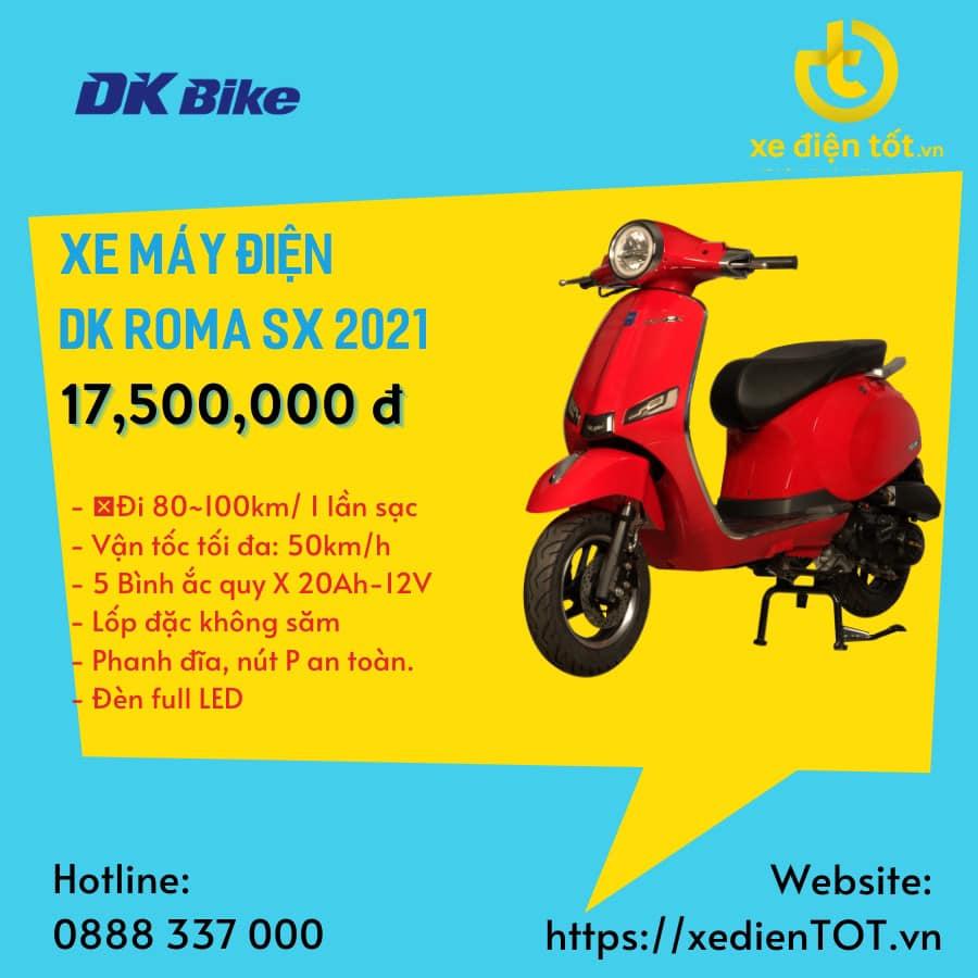Xe máy điện chính hãng DK Bike