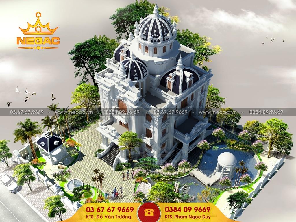 Thiết kế biệt thự nhà vườn châu âu