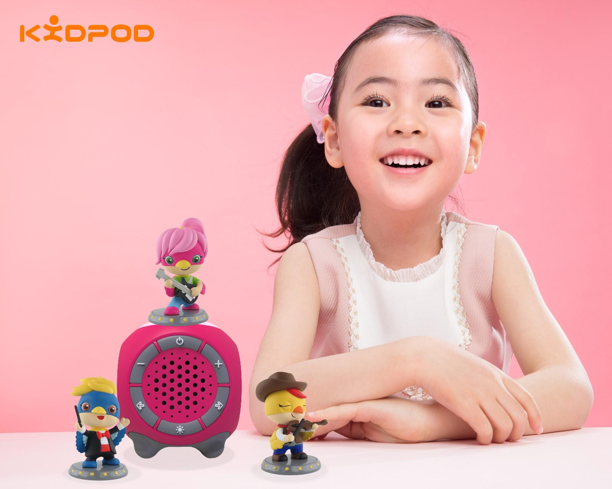 Máy nghe nhạc, kể chuyện Kidpod