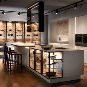thiết kế tủ bếp biệt thự