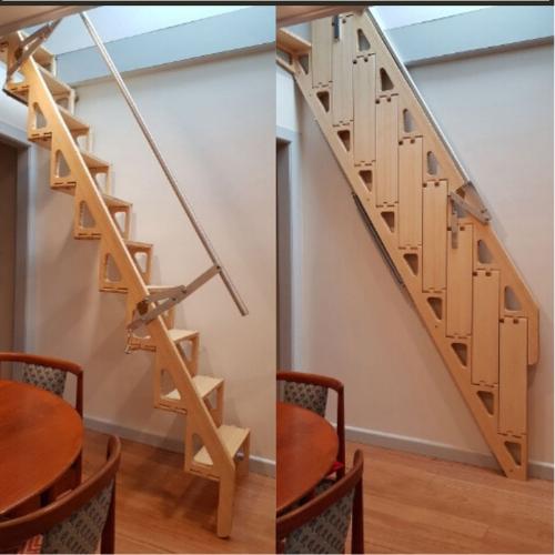 cầu thang gấp