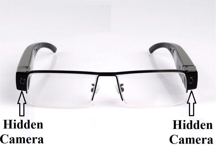 Camera ngụy trang trên kính mắt
