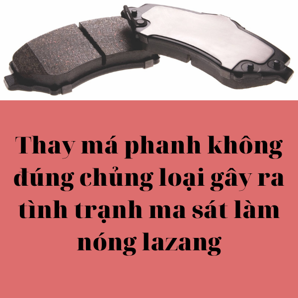thay má phanh phù hợp cho xe