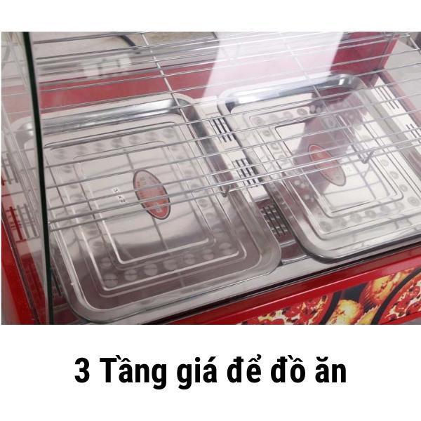 3 Tầng giá để đồ ăn