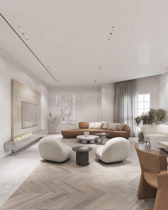 Hoàn thiện nội thất chung cư phong cách hiện đại với chi phí 300 triệu