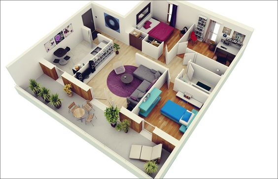 Thiết kế hoàn thiện chung cư với chi phí 300 triệu