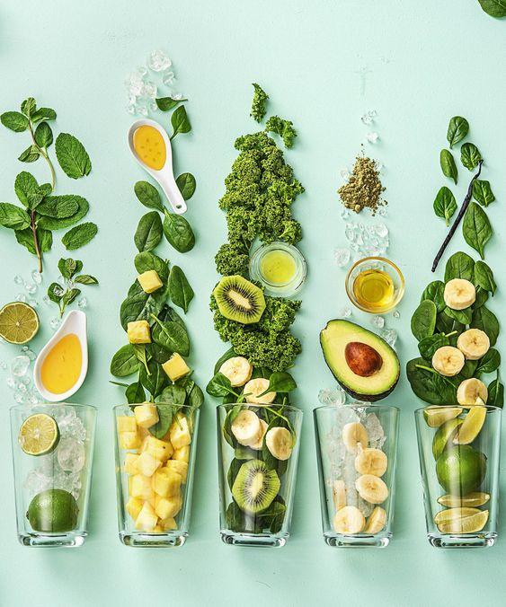 rau xanh vitamin E